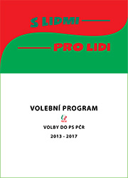 Volební program do PS PČR (2013 - 2017)
